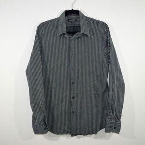 Express 1mx Mens M Long Sleeve Casual Dress Shirt